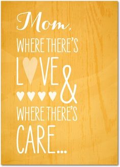 Where There's Mom - Mother's Day Greeting Cards - Magnolia Press - Citrus - Orange : Front