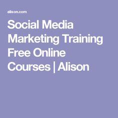 Social Media Marketing Training Free Online Courses   Alison