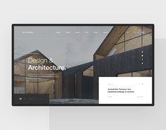 Website Design Layout, Web Layout, Layout Design, Architecture Portfolio, Net Architecture, Architecture Diagrams, Web Design Examples, Magazine Design, Modern Website