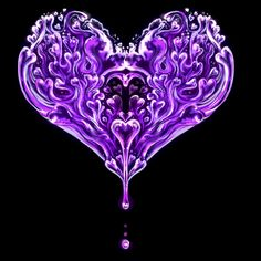 purple heart for Prince
