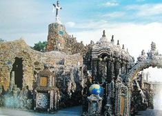 "The Grotto of the Redemption is a religious monument which consists of nine grottos depicting scenes in life of Jesus. The Grotto contains a large collection of minerals and petrifications and is believed to be the largest grotto in the world. It is also ""considered to be the world's most complete man-made collection of minerals, fossils, shells, and petrifications in one place."" The total value of all the rocks and minerals which make up the Grotto is over $4,308,000."