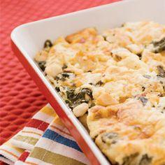 Melissa Blickem's Favorite Chicken and Spinach Casserole