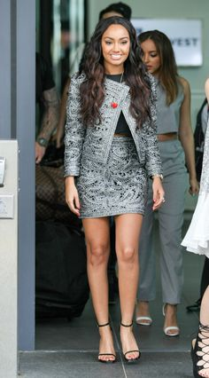 Leigh-Anne Pinnock Little Mix Leigh Ann, Little Mix Jesy, Jesy Nelson, Little Mix Style, Little Mix Outfits, Perrie Edwards, Celebrity Outfits, Celebrity Style, Litte Mix