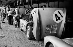 Works Porsche 550 Team 1954 LeMans | Drive a Porsche @ http://www.globalracingschools.com
