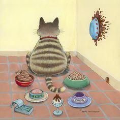 Gary Patterson Art | Gary Patterson captures cats' unique essence | The Conscious Cat