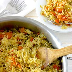 The Best Organic Rice Pilaf Recipe That I Have Ever Made! from Whole Lifestyle Nutrition