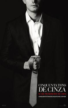 Cartaz - Christian Grey #CinquentaTonsFilme #MrGrey