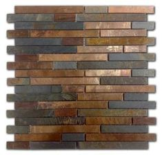 Basement Renovations Tips - My Romodel Copper Tile Backsplash, Concrete Fireplace, Basement Renovations, Basement Ideas, Basement Bars, House Remodeling, Rustic Kitchen, Rustic Backsplash Kitchen, Kitchen Ideas