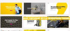 20 Best Pinterest Style WordPress Themes 2017