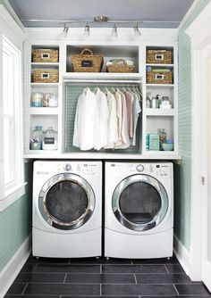 Small and Functional Laundry Room Ideas (68)