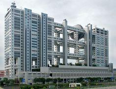 FCG (Fuji-Sankei Communications Group) Headquarters Building  Tokyo, Japan 1996  Kenzo Tange