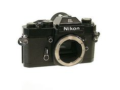 NIKON Nikkormat EL2 EL-2 black classic SLR analog Klassik topmodel very nice /16