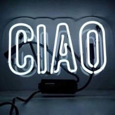 Oliver Gal Ciao Neon Sign | Overstock.com Shopping - The Best Deals on Specialty Material Art