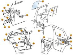 24 best jeep liberty kj parts diagrams images jeep liberty, morris 2002 Jeep Liberty Drivetrain Diagram jeep liberty rear door replacement parts