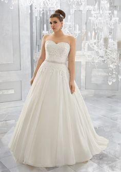 Mori Lee – Julietta Plus Size Wedding Dresses