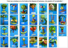 Risultati immagini per art pla maternelle fruits Remembrance Day, School Pictures, Tutti Frutti, Art Plastique, Mondrian, Creations, Thanksgiving, Halloween, Fall