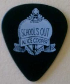 Alice Cooper School's Out Guitar Pick Brand New