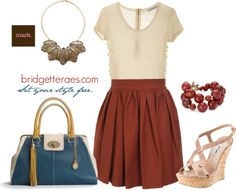 """At the Office- Featuring Mark. Show Your Metal Necklace"" by bridgetteraes on Polyvore"