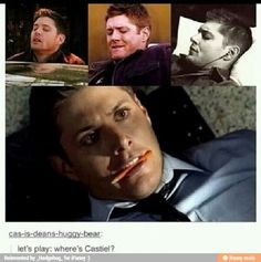 Or let's play I wanna give you reasons why Dean is such a sub/bottom. Haha. ;}