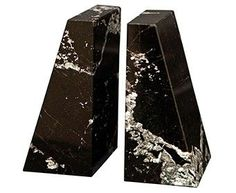 Marble Crafter BE20-BZ Zeus Bookends