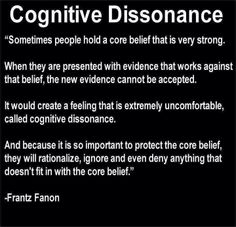 So many people have crystallized around their rigid, limited core beliefs.