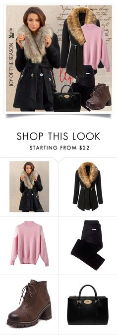 """""""SheIn.com - 2"""" by bebushkaj ❤ liked on Polyvore featuring Lipsy, sass & bide and Mulberry"""