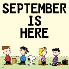 🙌🏽 We made it to another wonderful month of the year. May this new month usher in lots of joy, happiness, goodness and mercies of the Lord for us all. Peanuts Cartoon, Peanuts Snoopy, Hello October Images, Walt Disney, Happy September, September Events, Snoopy Pictures, Snoopy Quotes, Snoopy Love