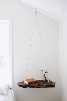 Wooden Hanging Table DIY Project - 16 Best DIY Furniture Projects Revealed – Update Your Home on a Budget!