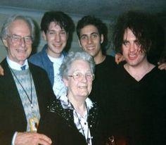Alex and Rita Smith, parents of Robert Smith.