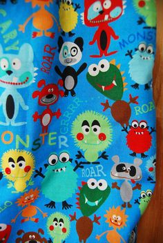 monsters blanket as a décor?