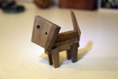 Design Toy Art Reclaimed Wood