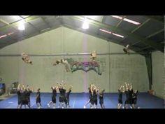 HPU Cheer Highlight Video 2012