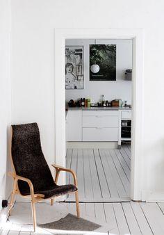 Scandinavian Retreat: Sara and Kristian´s home