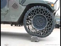 on Tubeless/Airless Tire Humbhi/Hummer wheel - YouTube
