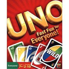 UNO Card Game - Great fun for everyone! $8.99