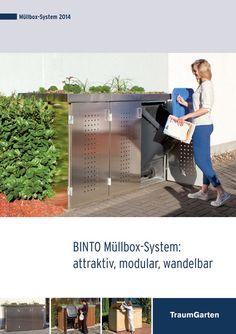 Tolle modulares Sytem um Mülltonnen oder sonstige Boxen zu verkleiden und den Mülltonnenplatz zu einem Highlight zu machen.