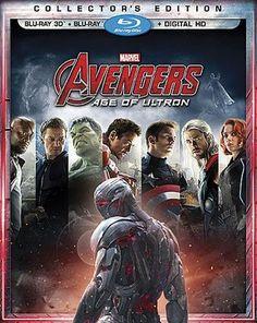 Avengers: Age of Ultron [Includes Digital Copy] [3D] [Blu-ray] [Blu-ray/Blu-ray 3D] [2015]