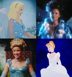 From the Disney movie & Once Upon A Time: The Blue Fairy and Cinderella