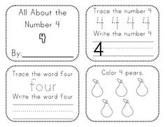 Numbers 1–10 Activity Books. CCS: Kindergarten Counting and Cardinality