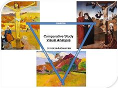 Comparative study with image annotation with diagrams to understand formal analysis for IB Visual Arts students and teachers.