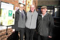 DOXEY councillors have welcomed three new potential lifesavers to the village.  Public access defibrillators have been installed at the Universal Sports and Social Club at Reed Drive, Doxey House on...
