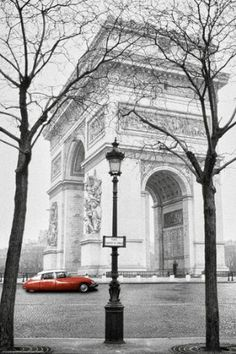 Arc de Triomphe and Place Charles de Gaulle in Paris Photographic Print by Ladislav Janicek Paris France, Oh Paris, France 3, Paris City, Oh The Places You'll Go, Places To Travel, Places To Visit, Travel Destinations, Paris Travel