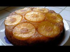 Le gâteau à l'ananas caramélisé (recette rapide et facile) HD