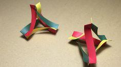 How to make an Origami Flexible Tetra