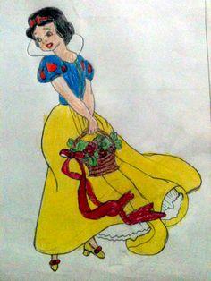 Made by Lavanya Rajeev, 8 years old, Artist Of The Day on 01/09/2014 • Art My Kid Made #SnowWhite