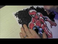 Coloring Spiderman - by Todd Nauck