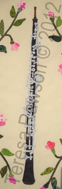"""FABRIC THERAPY: """"Baltimore Rhapsody"""" Block #6 - the oboe, part 2"""