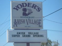 Yoders Amish Restaurant located in Sarasota, Florida