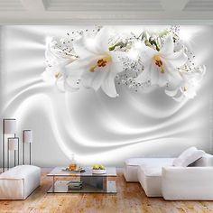 wall mural flowers, wallpaper mural, wallpaper for bedroom, removable wallpaper mural for bedroo 3d Wall Decor, 3d Wall Murals, Bedroom Murals, Wallpaper Decor, Home Wallpaper, Wallpaper Wallpapers, Living Room Designs, Living Room Decor, Tv Wanddekor