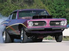 1968 Plymouth Barracuda Hemi Super Stock